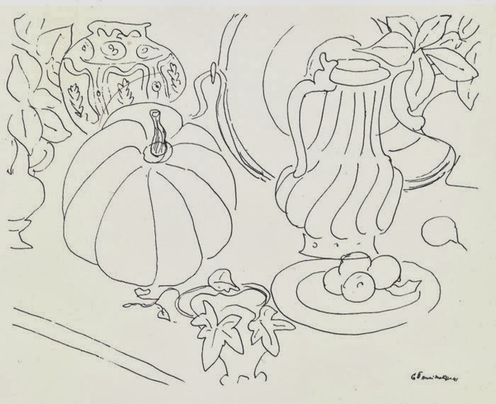 Contour Lines from Matisse to David Hockney