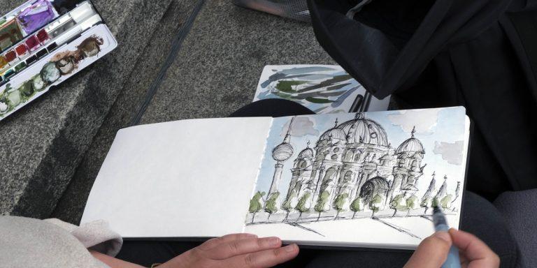 Sketchbook Practice: Urban Landscape Supply List