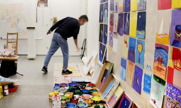 Studio Visit with Olaf Kühnemann