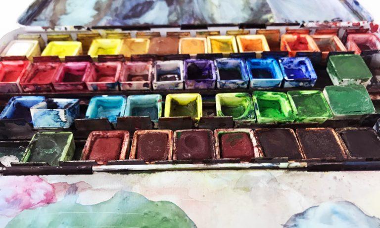 Sketchbook Practice Watercolor