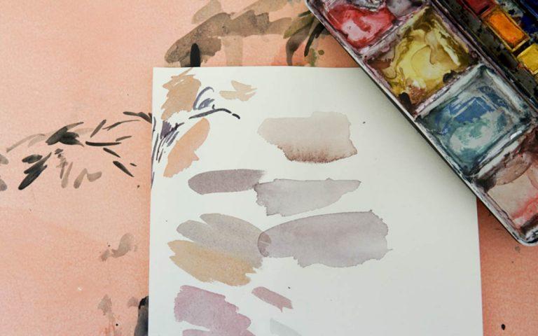 Intro Watercolor Supply List