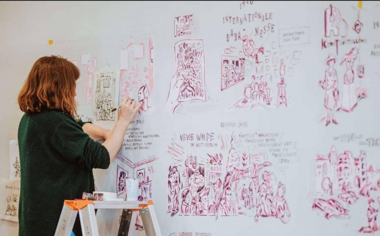 Interview with Ali Fitzgerald: artist, comics creator and graphic novelist