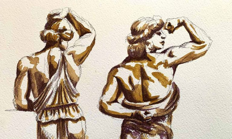 Figure Drawing Class: Venus with Biceps (video)