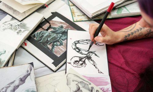 Sketchbook Creative Journey